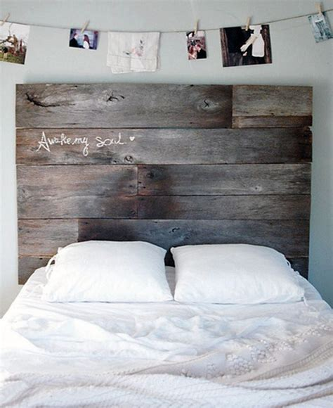 Reclaimed Wood Headboard 101 Headboard Ideas That Will Rock Your Bedroom