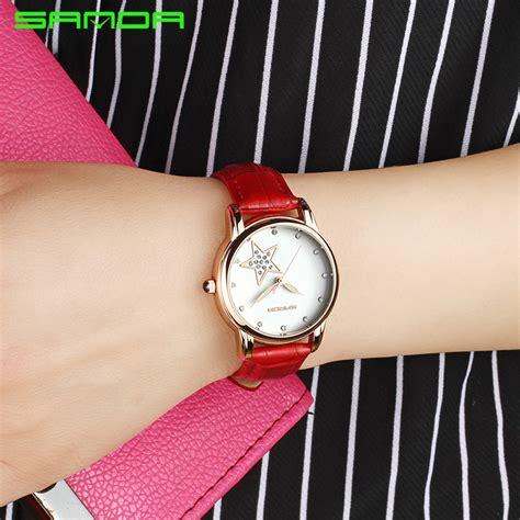 Jam Tangan Wanita Bum Equipment sanda jam tangan analog wanita sd p200 black jakartanotebook
