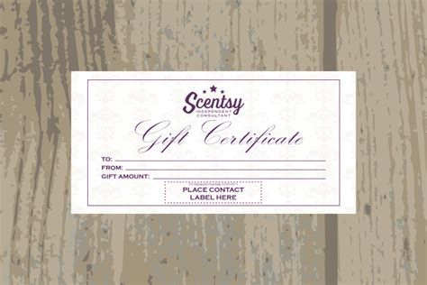 Scentsy Gift Card - authorized scentsyvendor instant download scentsy gift