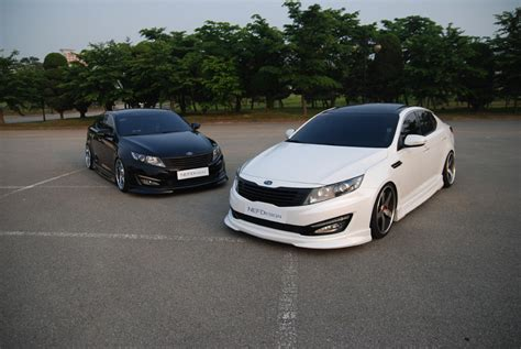 Kia Optima Customized Kia Optima K5 Nefdesign Original Bodykit