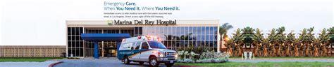 marina hospital emergency room marina hospital in los angeles l a county s top specialty care