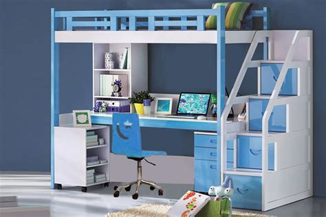 Bunk Bed With Study Table Furniture India Buy Bedroom Sets Bunk Car Beds