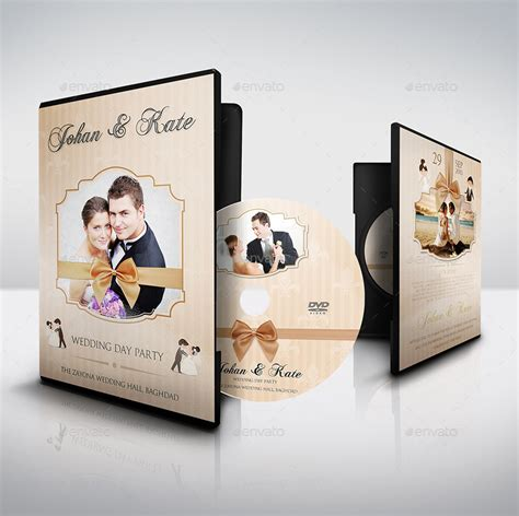 wedding dvd cover template wedding dvd cover and dvd label template vol 5 by