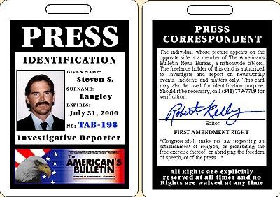 media pass template sle press passes el vaquero graphics team