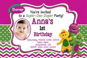 40th birthday ideas barney birthday invitation templates