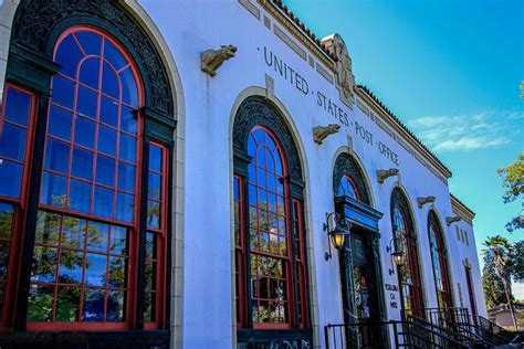 Petaluma Post Office by Petaluma Historic Buildings Post Office Posts And