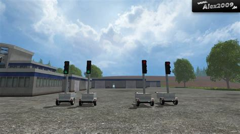 mobile traffic mobile traffic lights v 1 0 mod farming simulator 2015