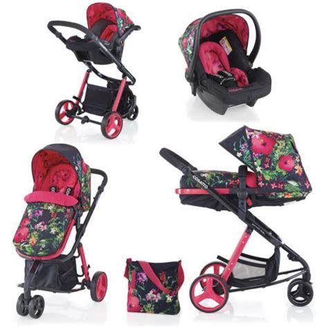 3in1 Salem cosatto woop tropico complete 3in1 travel system with car