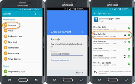 android synchronized how to transfer calendar from android to android