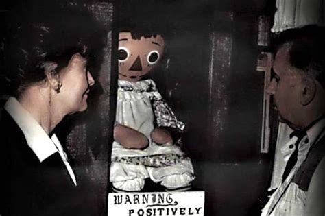 annabelle doll lorraine warren the real annabelle doll is going to be investigated on tv