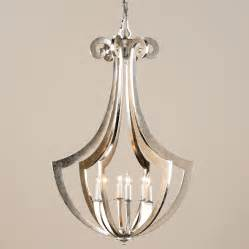 Asian Chandelier Currey And Company 9639 Venus Six Light Chandelier