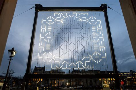 zamora designboom all seeing eyes and wormholes light up amsterdam s