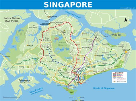 singapore on a map here s a map of s pore with places renamed to reflect