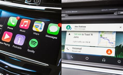 carplay for android apple carplay vs android auto we test both feature car and driver car and driver
