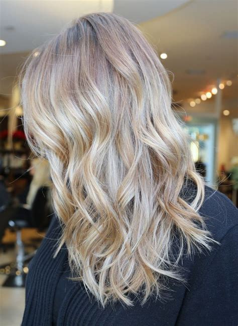 blonde colours for winter love the way these highlights blend together lovely