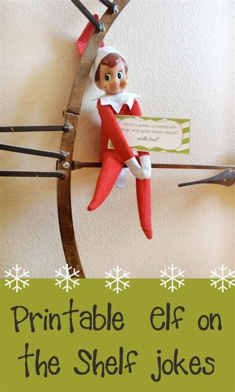 elf on the shelf printable joke cards 61 best images about sis on pinterest jokes elf ideas
