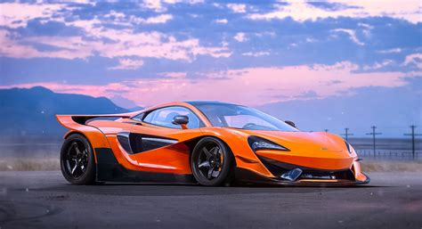 orange mclaren wallpaper mclaren 570s hd wallpaper and background image