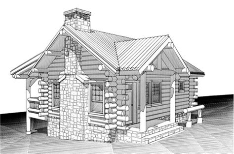one bedroom log cabin plans home plans online house plans by max fulbright designs