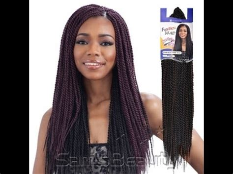 senegalese pre twisted hair freetress senegalese twist crochet braids review pre