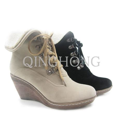china wedge fur ankle boots qh0296 2 china ankle