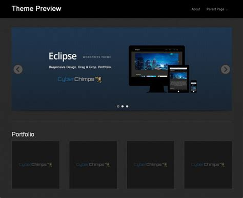 eclipse theme minimal 15 free minimal and responsive wordpress themes