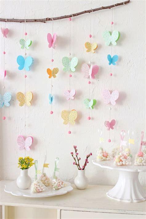decoraciones con mariposas de papel dale detalles