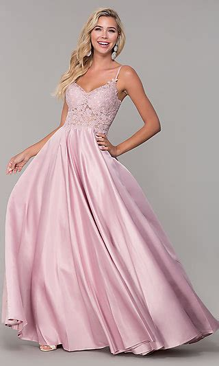 promgirl pink prom dresses party dresses  pink
