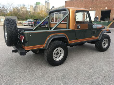 jeep scrambler hardtop 1984 jeep cj8 laredo scrambler new motor removable