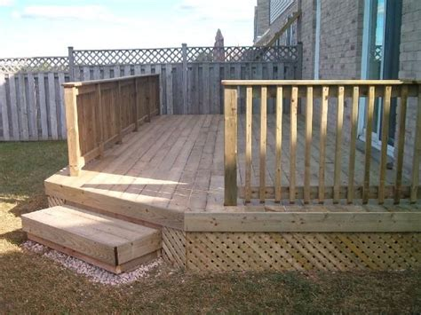 small backyard decks small backyard deck yard ideas