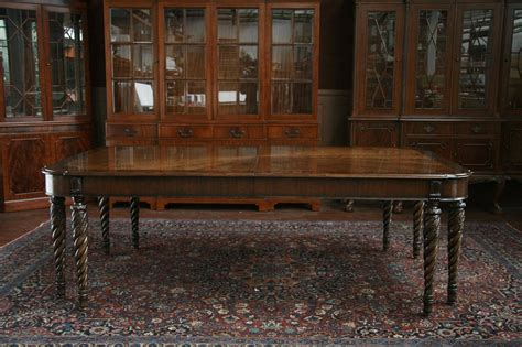 No Room For Dining Table Mahogany Dining Room Table Henredon Dining Table Ebay