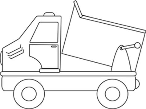 dump truck coloring page preschool ideas for early childhood may 2014