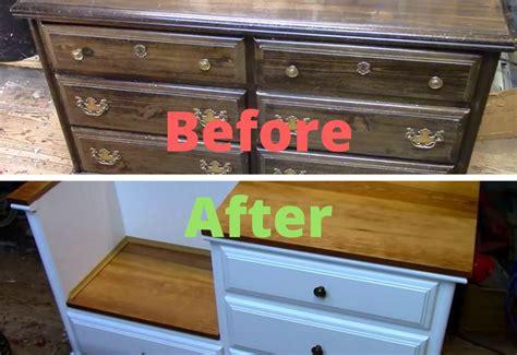 dresser turned into bench diy dresser ideas interior design