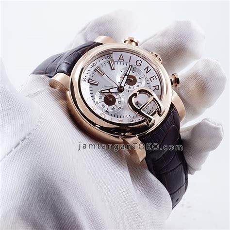 Jam Tangan Aigner Bari Putih harga sarap jam tangan aigner bari kulit elegan coklat