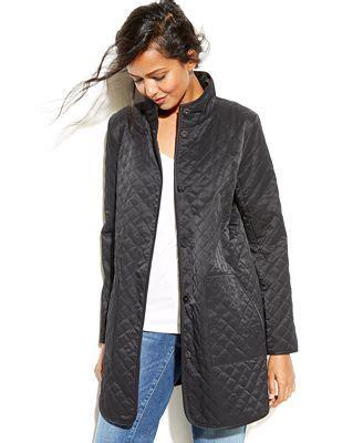 eileen fisher lightweight quilted barn jacket coats