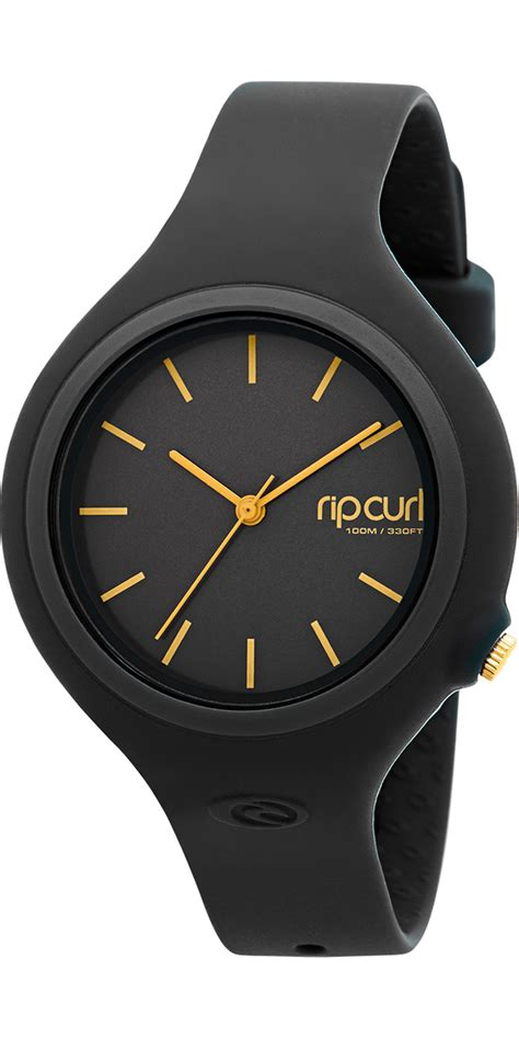 Rip Curl Stainless Black Gold 2018 rip curl womens surf black gold a2696g a2696g womens watches by rip curl