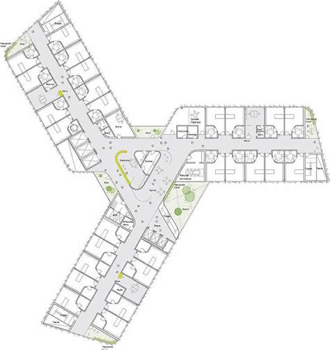 mental hospital floor plan 14 best psychiatric hospital design images on pinterest