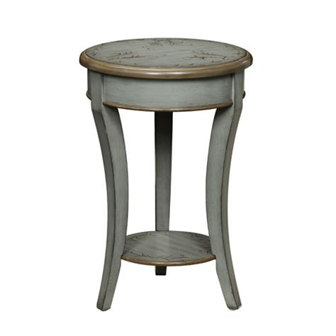 painted accent tables floral painted accent table bellacor