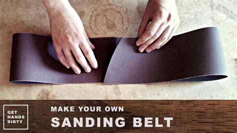 make your own rubber sts make your own sanding belt