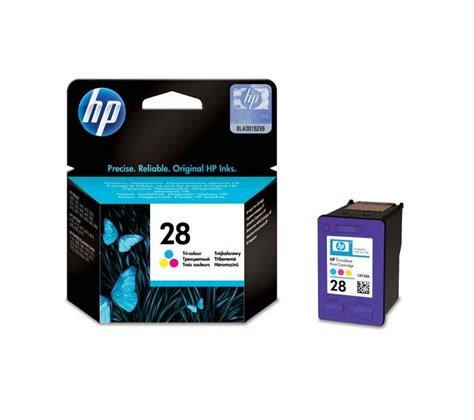 Print On The Go With No Ink Cartridges by Hp 28 Tri Colour Ink Cartridge Deals Pc World