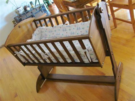 Handmade Bassinet - baby cradle handmade or doll cradle cedar nanaimo