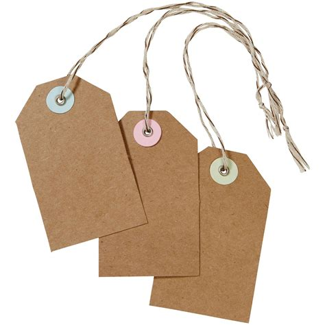 craft paper tags martha stewart crafts kraft tags