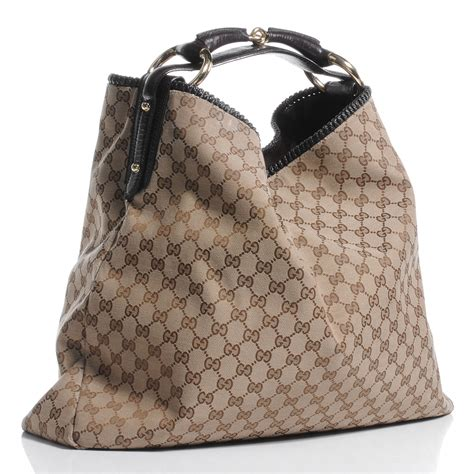Gucci Chain Large Hobo by Gucci Large Horsebit Chain Hobo Brown