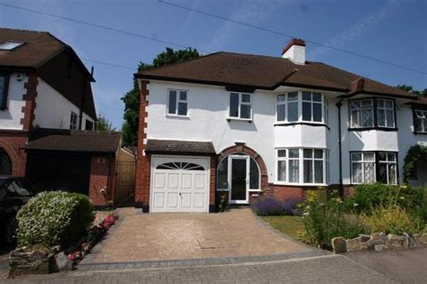 side extension to a semi detached houses 5 bedroom semi detached house for sale in the close petts wood kent br5