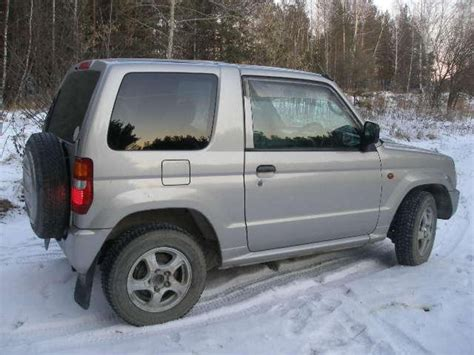 mitsubishi mini dimensions 2002 mitsubishi pajero mini pictures information and