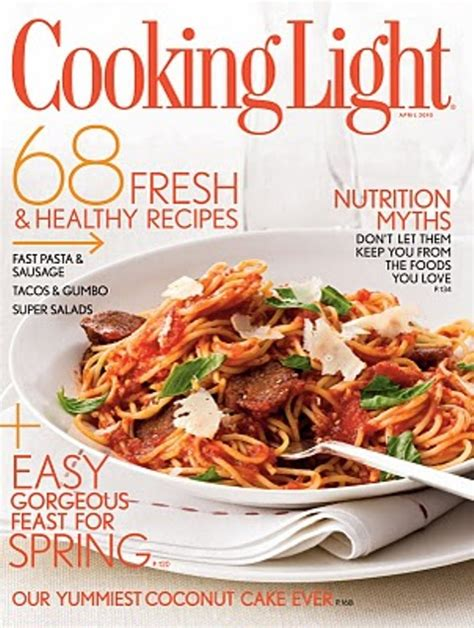 cooking light magazine reviews top 10 best food magazines in the world omg top tens list