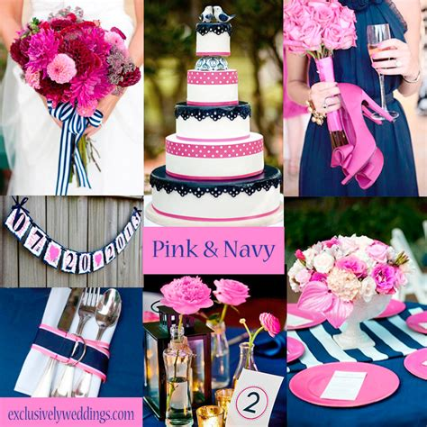 pink and blue wedding colors pink wedding color twelve combinations