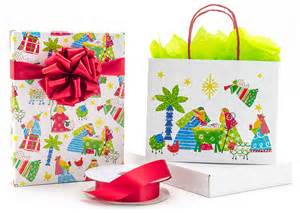 religious gift wrap and the word of god one package at a time