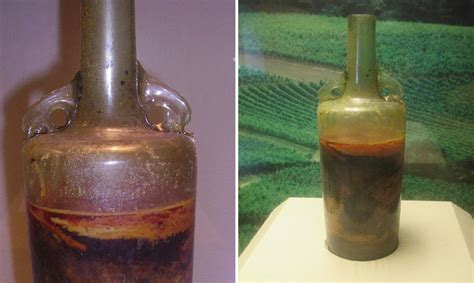 what is the oldest world s oldest bottle of wine remains unopened since the 4th century