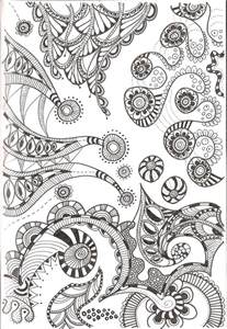 free zentangle coloring pages free printable zentangle coloring pages for adults