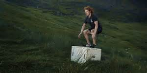 Sam heughan on working out the box